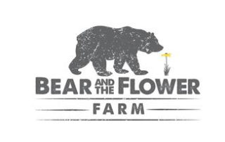 Bear and Flower Farm Logo