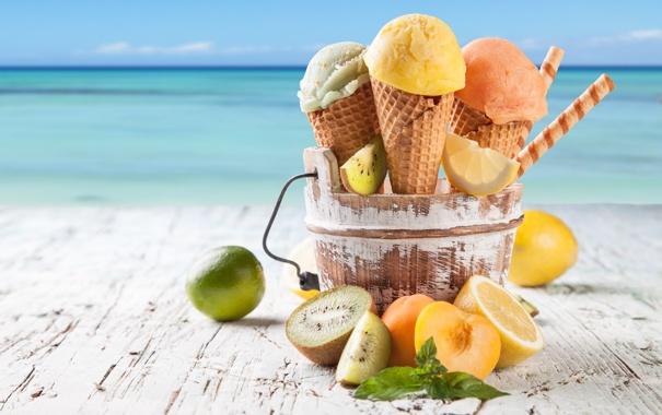 Summer Ice Cream Photo